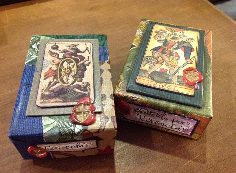 Meet a master tarot card designer from milan birthplace
