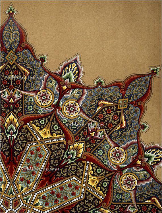 Ceramic Tile 6 X 8 Vintage Art Tile By Etsy Pattern Art Art Turkish Art