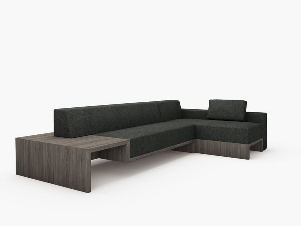 Modern sofa design slow minimalist modern modular sofa for Minimalist sofa