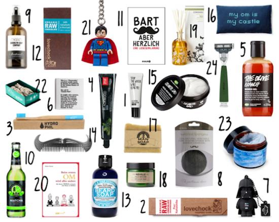 DIY Adventskalender 24 Geschenkideen für Männer
