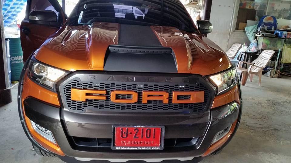 Bonnet Hood Scoop Fit Ford Ranger T6 Mk2 Px2 Xlt Wildtrak 2015 2018 Ford Ranger Ford Ranger Wildtrak Ranger