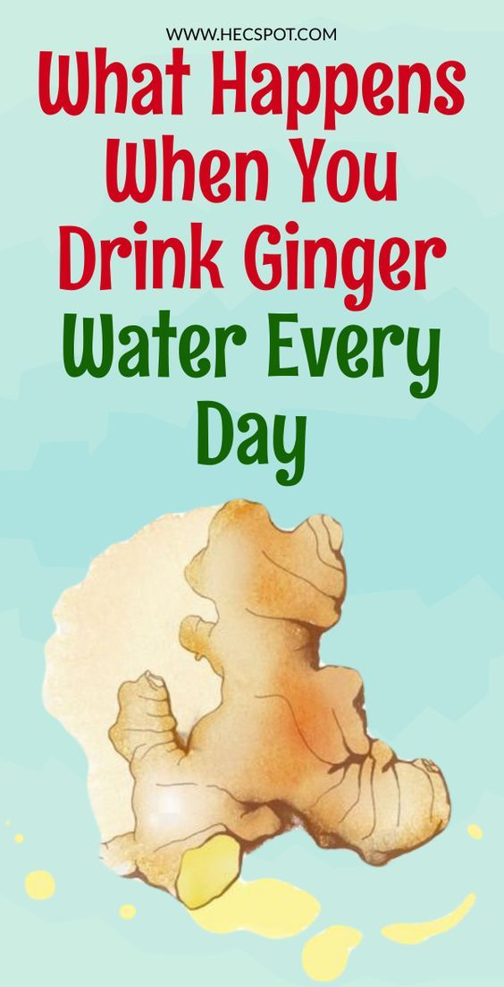 What Happens When You Drink Ginger Water Every Day