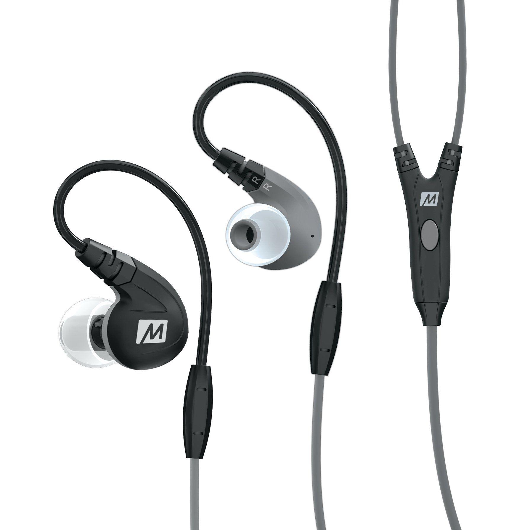 MEE audio M7P SecureFit Sports InEar Headphones with Mic