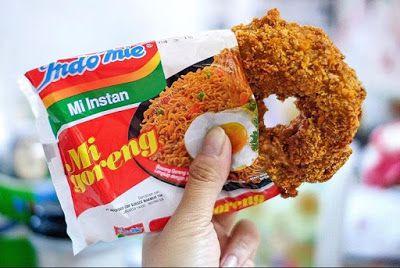 Resep Cara Membuat Donat Indomie Masakan Indonesia Resep Masakan
