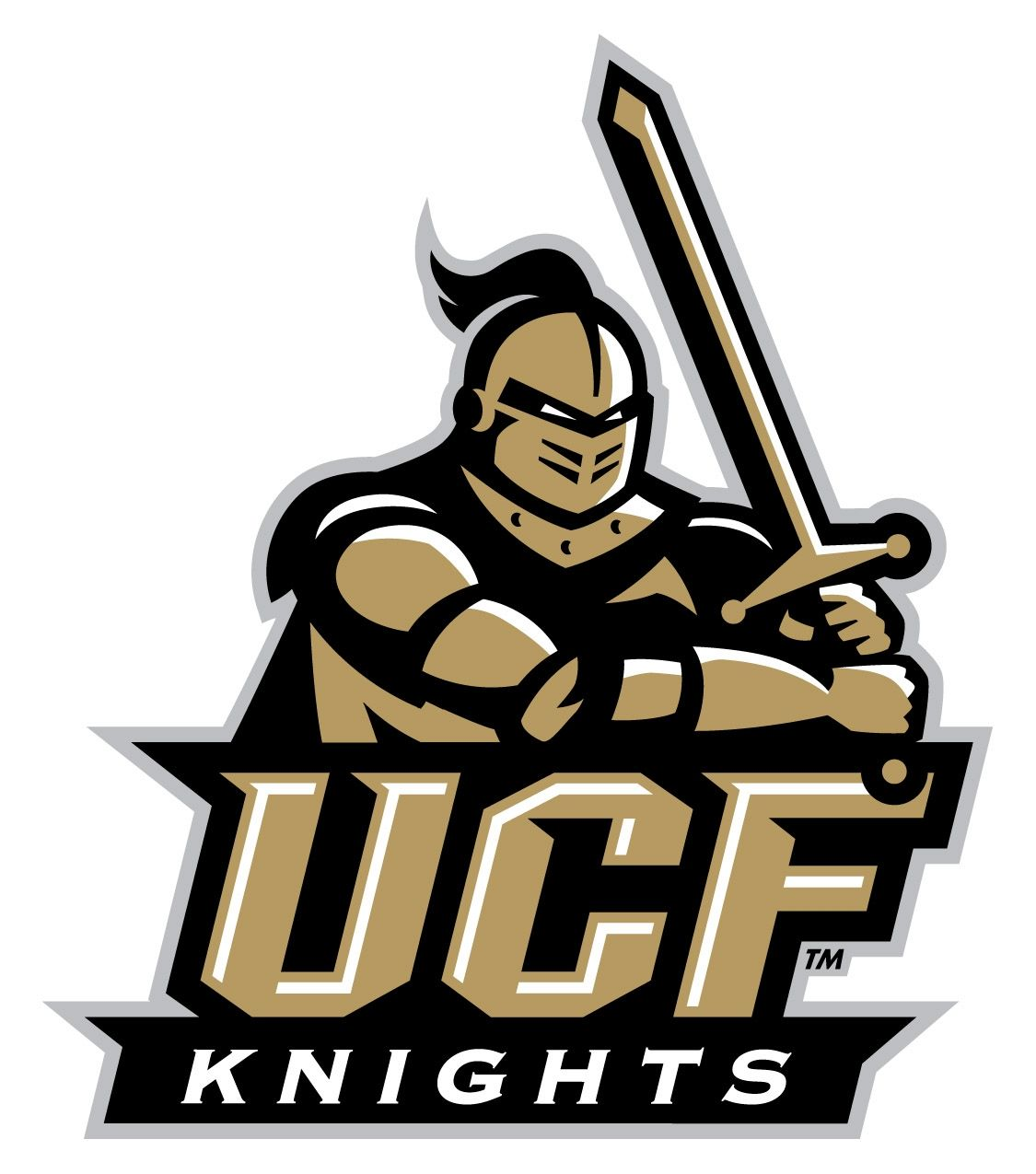 university of central florida knights logo florida  university of central florida knights logo 1