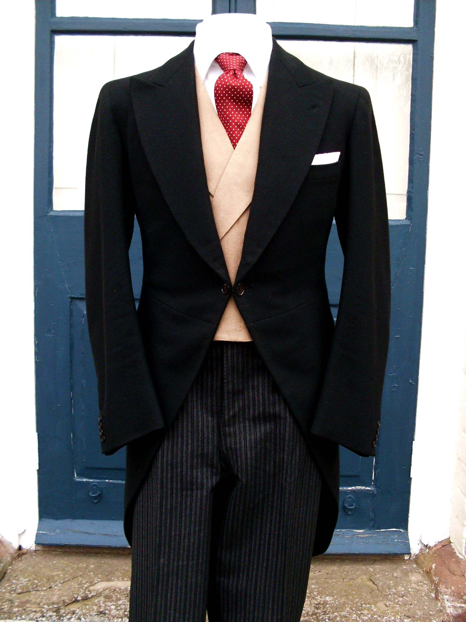 Traditional Morning Dress | Morning dress, Morning suits and ...