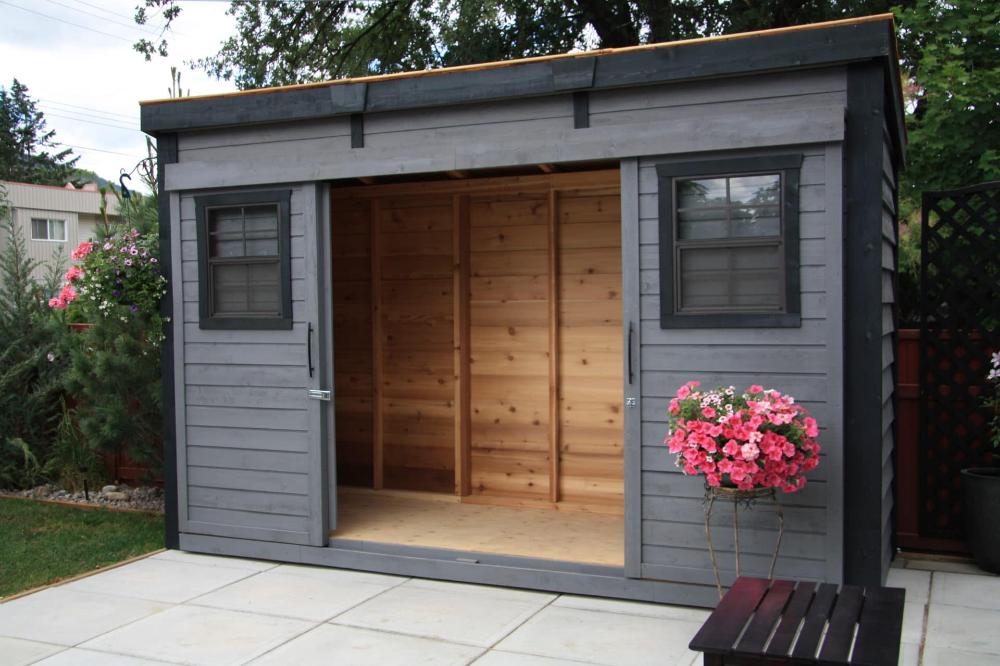 backyard sheds storage shed
