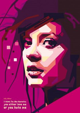 Lily Allen | Displate thumbnail