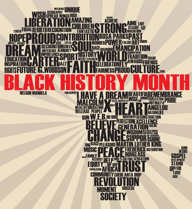 Photo of That's why Black History Month was created. Description from theblackinstitute…..
