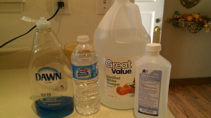 Floor Cleaner 3 4 Cup Water 3 4 Cup Alcohol 3 4 Cup