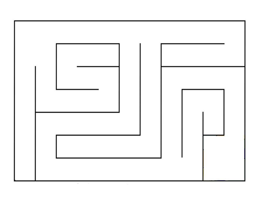 Marble Maze Pattern