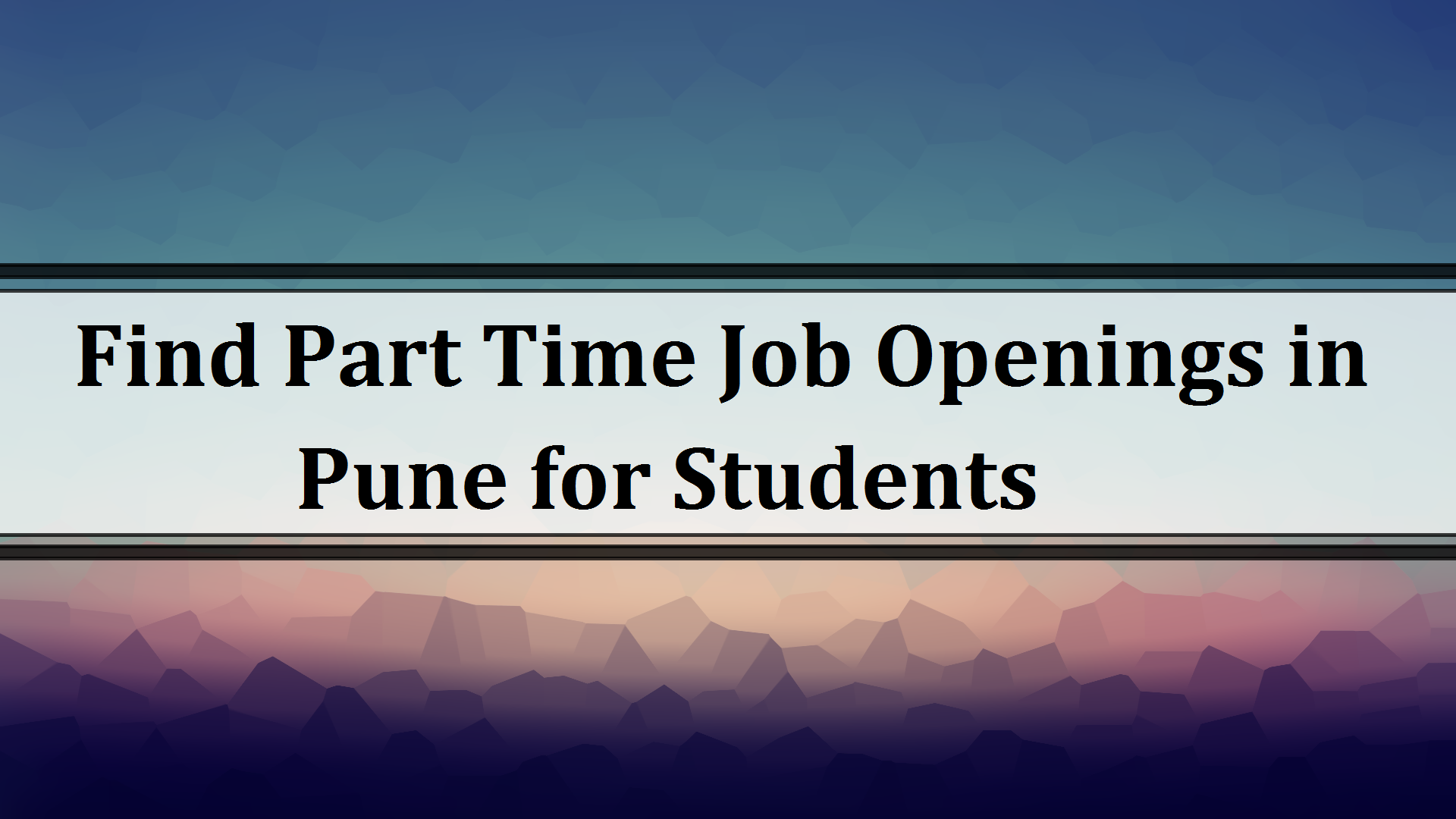 Search Part Time Jobs In Pune Part Time Job Openings In Pune Tridindiahr Com Part Time Jobs Job Opening Part Time