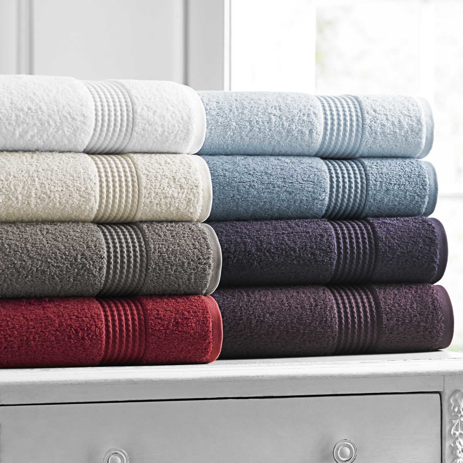 Miranda Haus Soft Absorbent Rayon From Bamboo And Cotton 6 Piece