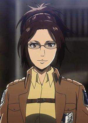 Hange ZOE | Anime-Planet | Attack on titan anime, Attack on titan art,  Attack on titan