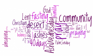 In the Quiet: Lent is Almost Here!