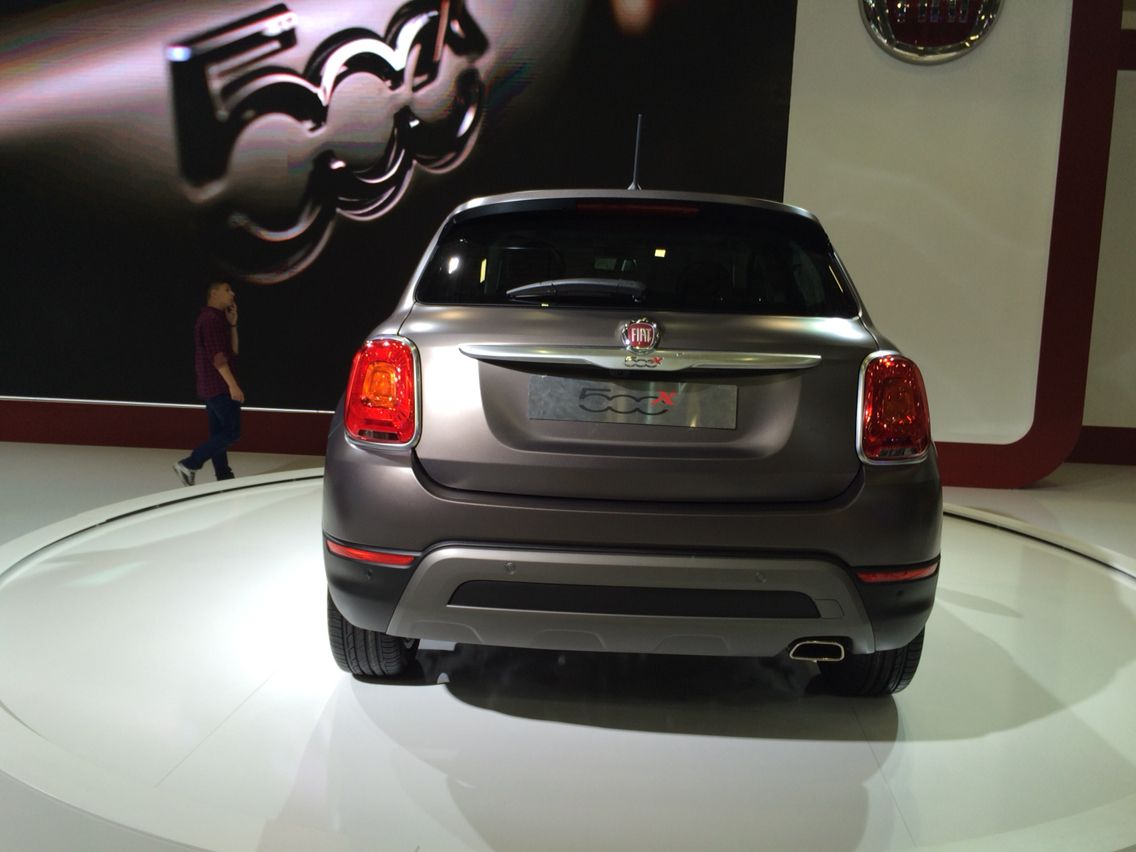 Fiat 500 X - Istanbul Auto Show 2015