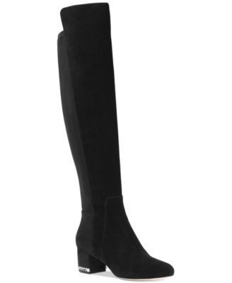 bf53f9e3e6c8 ... these Sabrina over-the-knee boots from Michael Michael Kors add daring  elegance to dresses and leggings.
