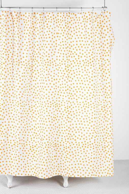 Shower Curtain Liner Yellow Shower Curtains Polka Dot Curtains