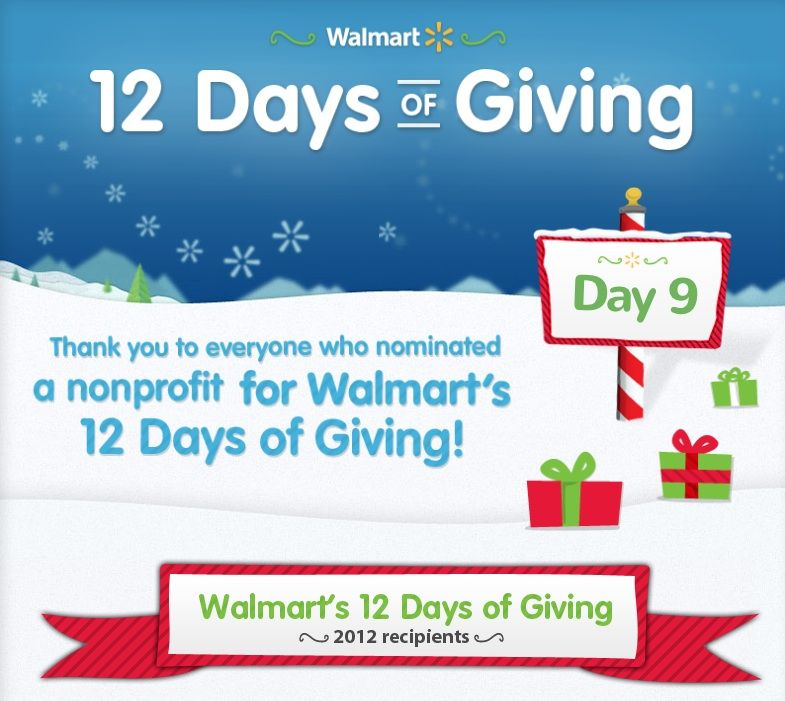 Walmart 12 Days Of Giving Takes Cause Marketing Twist Holiday