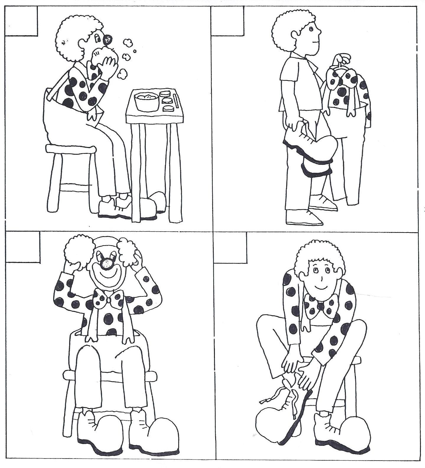 Images Sequentielles Clown