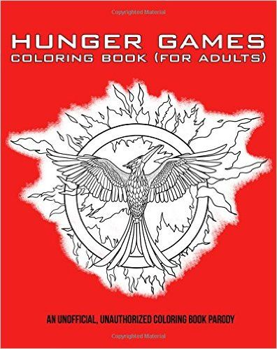 Amazon Hunger Games Coloring Book For Adults 9781512223477