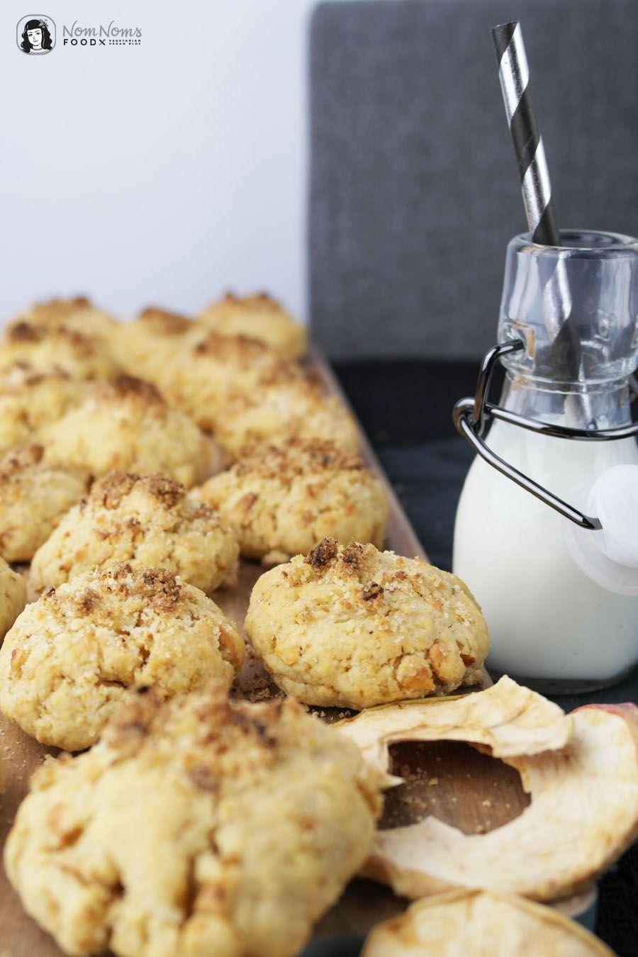 Apfel-Streusel-Kekse nach Jamie Oliver - 5 Zutaten Küche