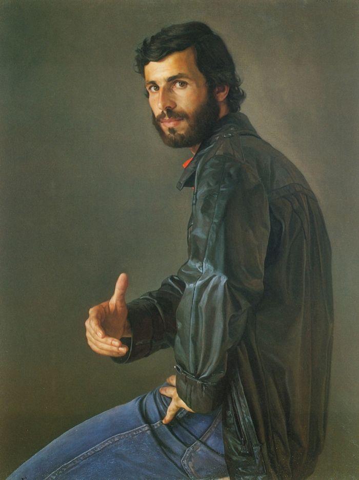 Claudio Bravo Camus With Images Portrait Portraiture Male