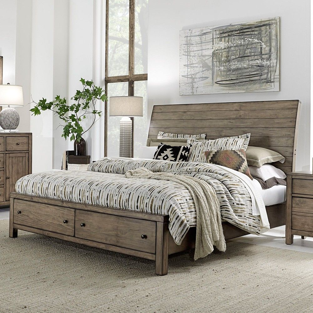 10 Stunning Queen Wood Storage Bed In Bedroom Ideas Coastal