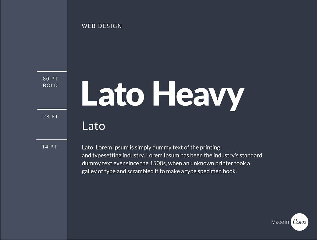 The Ultimate Guide To Font Pairing Fonts User Interface And