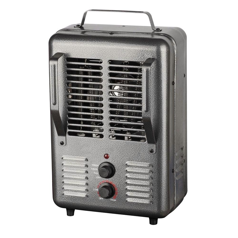 King 120 Volt Portable Electric Milk House Space Heater In Gray In 2019 Products House Heater Garage Heater Portable Heater