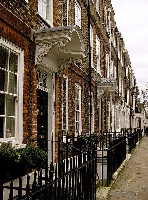 Georgian houses, Old Chelsea, London.