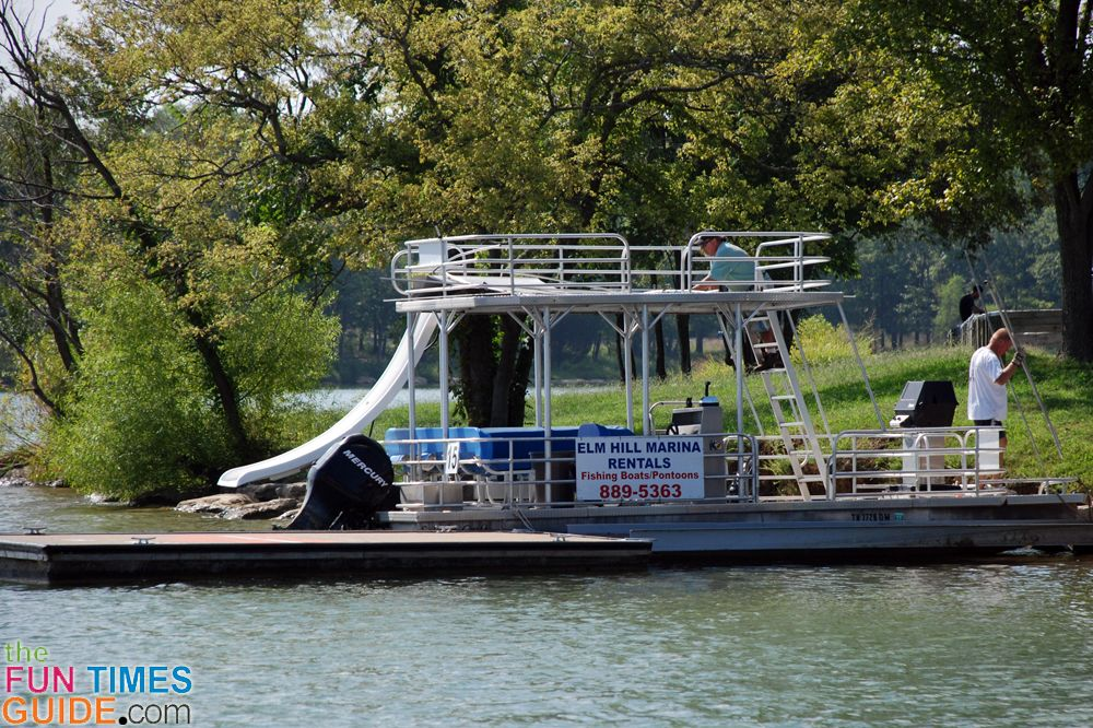 Where To Rent Pontoon Boats Other Water Toys In Nashville