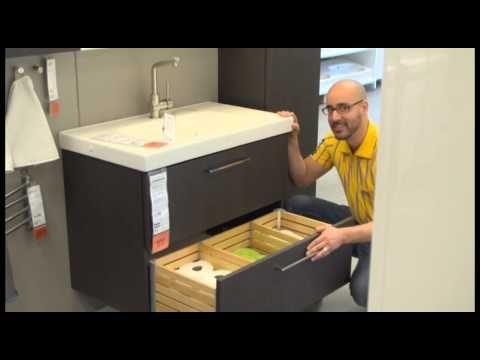 Ikea Godmorgon Double Sink Installation Instructions Youtube