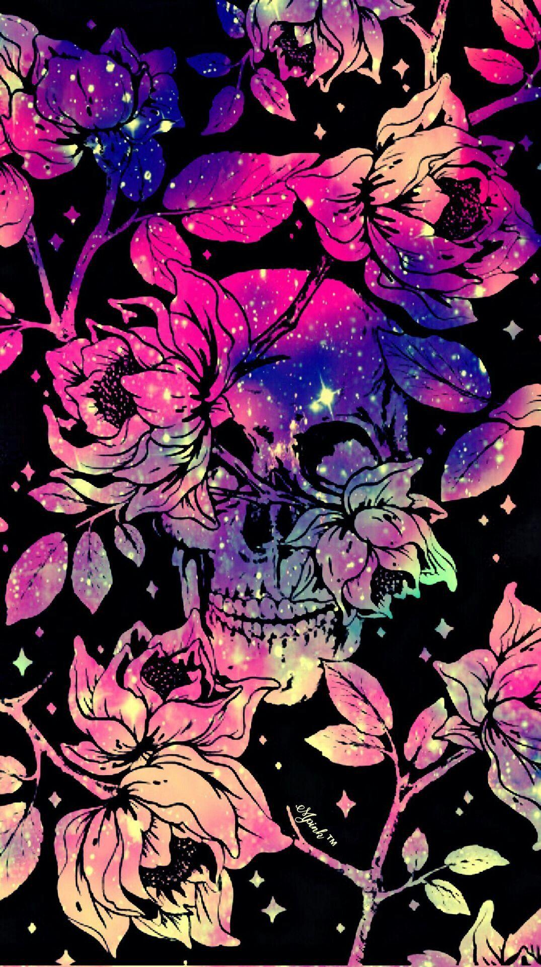 Rose Skull Heart Cross Image By Loki Dadreamer Skull