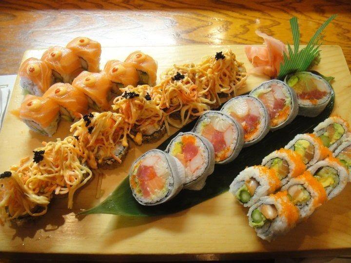 Photo Of Sushi Kuni Grand Rapids Mi United States Assortment Of Fusion Rolls Asian Cuisine Sushi Cuisine