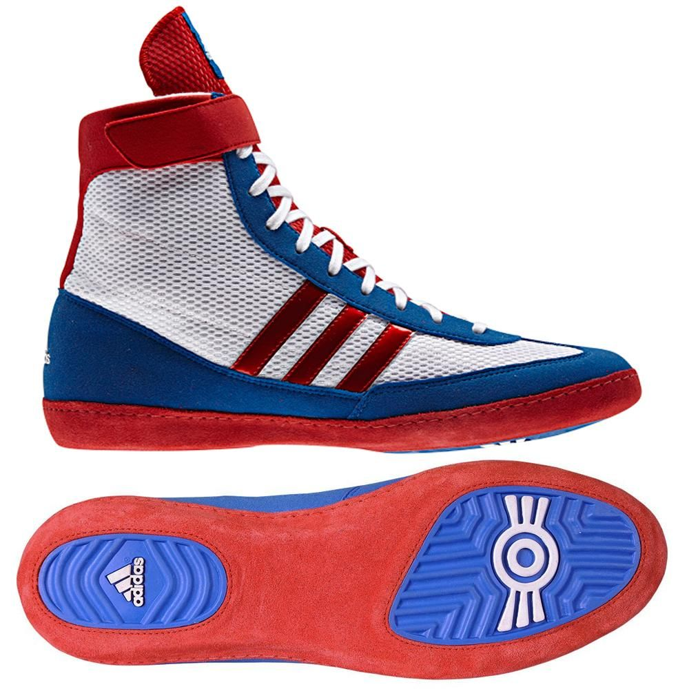 red white and blue adidas boxing boots cheap online