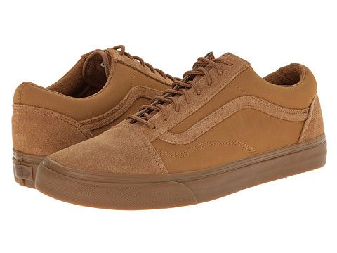 a3cdab7c1677 Vans Old Skool™ (Suede Buck)Tobacco Brown - Zappos.com Free Shipping BOTH  Ways