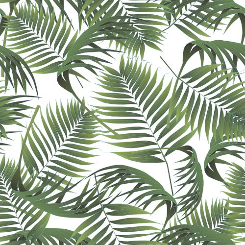 Crimean Palm Leaves Pattern