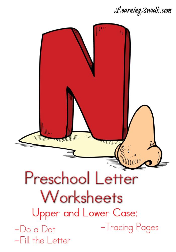 preschool letter n worksheets preschool letter worksheets letter