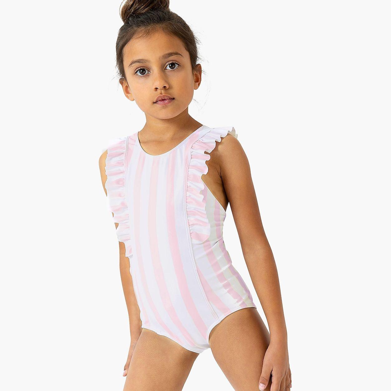 8599874984 crewcuts Minnow Ruffle One-Piece | Children's Fashion in 2019 ...