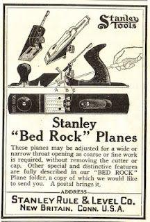 Stanley Tools | Vintage Advertisement | Antique woodworking tools