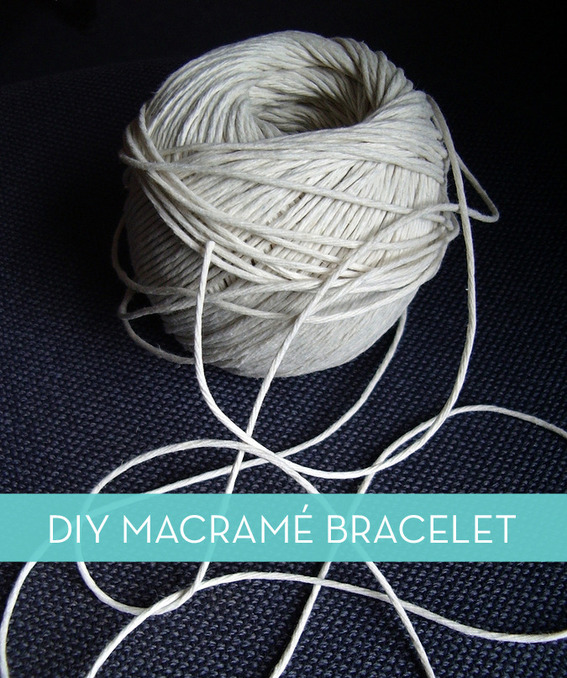 How to Make A Macrame' Bracelet (or Necklace) #[