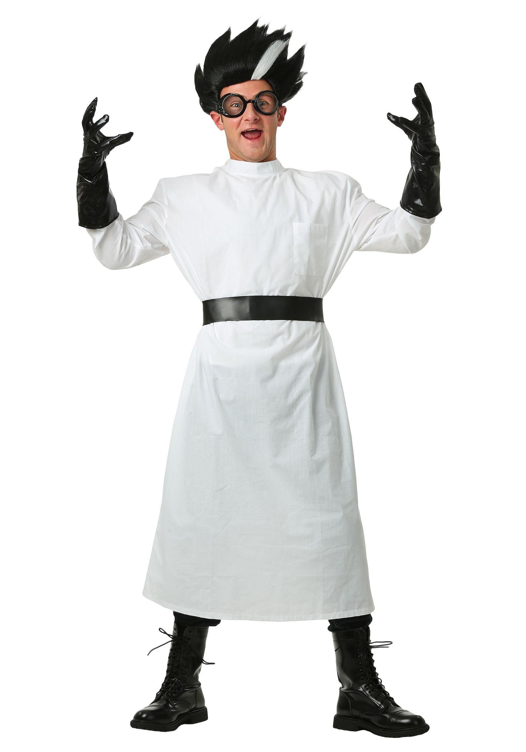 adult deluxe mad scientist costume | halloween spooktacular