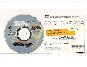 Windows 98 Upgrade Disc with Product Key $1 99 #windows98 #ebay