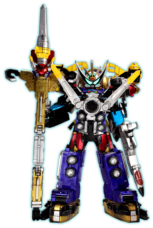 Tokumei Gattai Go-Buster Oh | Mecha Go Busters