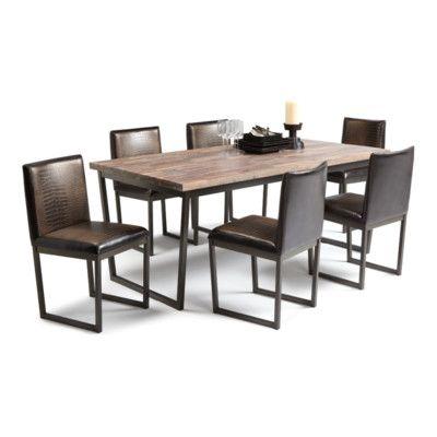 Sunpan Modern Porto 7 Piece Dining Set Allmodern1400
