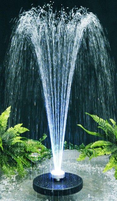 Fuente Chorros De Agua Apolo Luces Led Multicolores Fuentes - Diseo-de-fuentes-de-agua