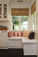 Kitchen window seat | Decorating