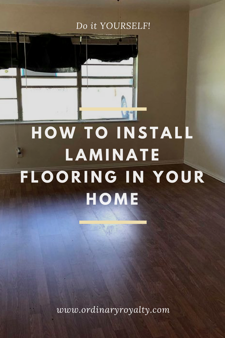 How To Install Tongue And Groove Laminate Flooring With