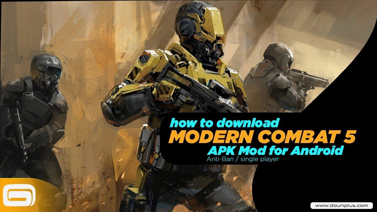 Free Download Modern Combat 5 Apk Mod Data For Android 2019 Youtube Single Player Videos Tutorial